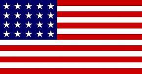 1818 US Flag